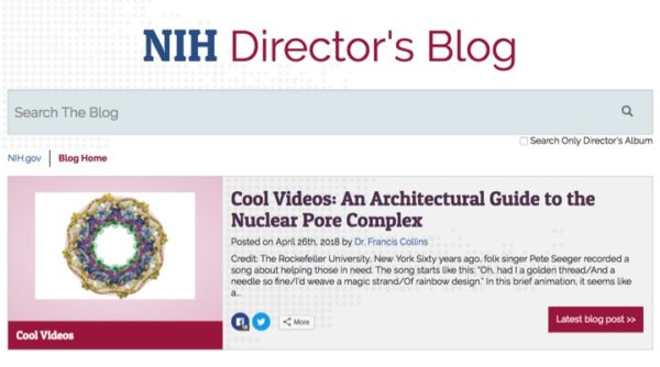 The NCDIR is in the News – our work is featured on the NIH